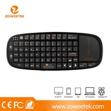 bluetooth keyboard with touchpad and laser pointer for IPhone 5c