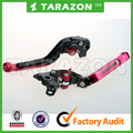 CNC adjustable motorcycle brake clutch lever for Bajaj Pular 180 200 220 200NS