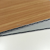 new developed senior panel exterior wall cladding wooden finish