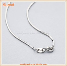 China Supplier Mini MOQ wholesale dainty women Silver/Gold/Rose gold 925 Sterling Silver Snake Chain for jewelry making