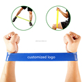 Fashion Private Custom Physical Fitness Elastic Resistance Loop Band