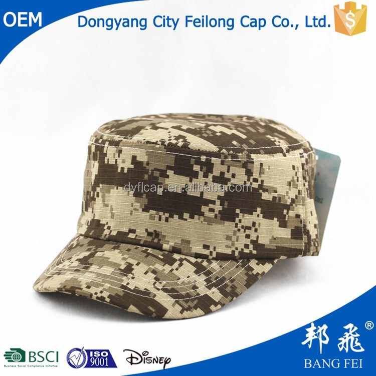 Vintage Fatigue Combat Hat (Digital Camo) /camo army military caps and hats