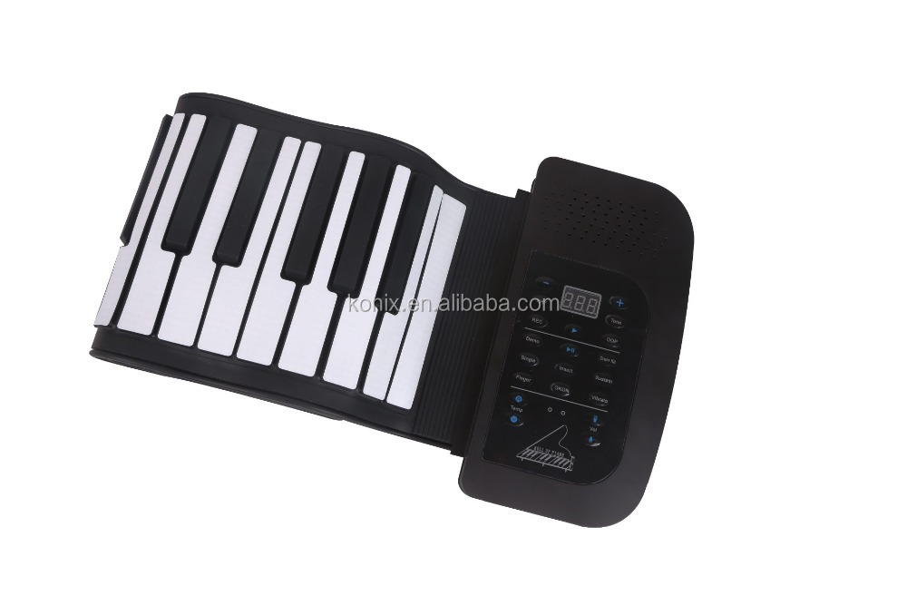 Easy Roll Flexible 61 Key Virtual Keyboard Piano Usb Shop China Korg Piano Educational Supplies Keys Walmart