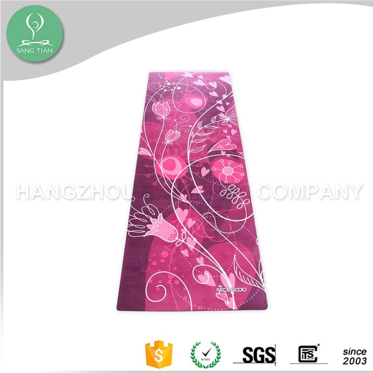 Gym fitness equipment used gymnastic mats custom print eco yoga mats