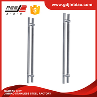 tempered glass door hardware stainless steel handle