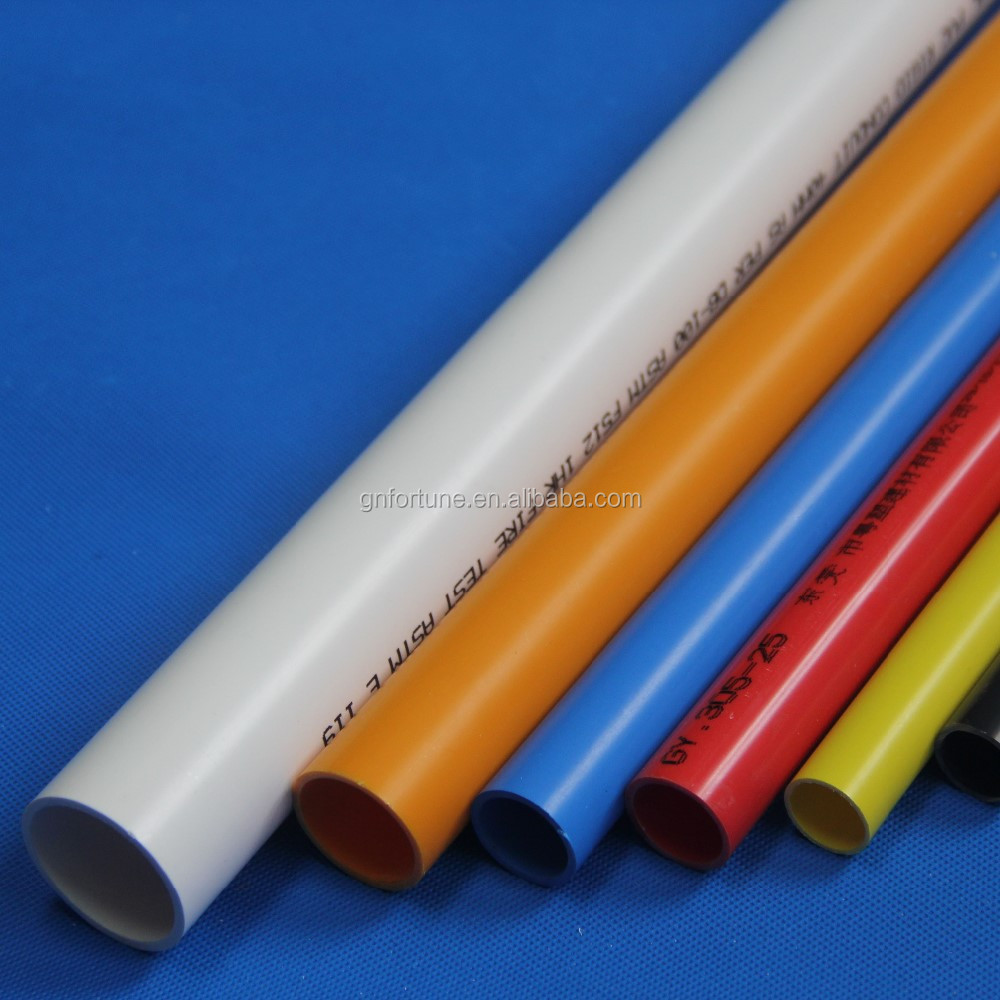 High pressure plastic pipe 16mm pvc pipe flexible conduit for Buy plastic pipe