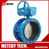 Resilient Seated Eccentric Flanged Butterfly Valve MTD343X