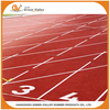 Aging resistance synthetic running track EPDM rubber flooring surfacing