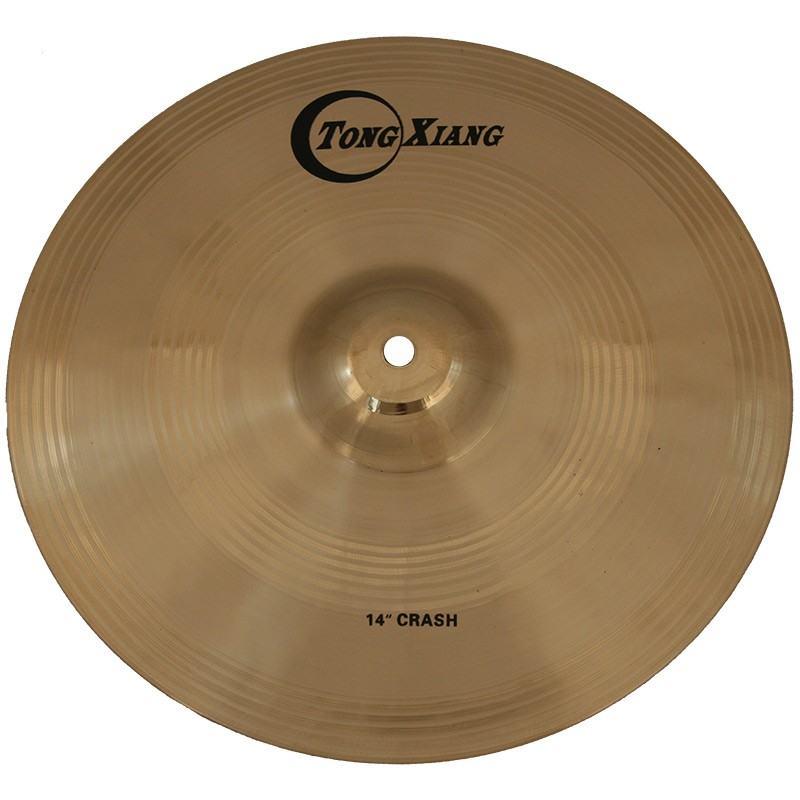 Tongxiang high quality TT B20 drum set cymbal for sale
