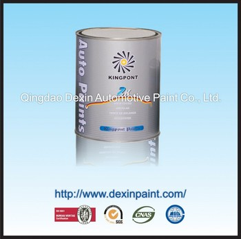 Auto refinish paint epoxy primer