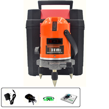 FS5-R2015 Not available for Outdoor, 635nm 4V1H Red Beam Laser Level Meter for Construction