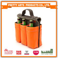 BSCI SEDEX Pillar 4 really factory 600D polyester fashion 6 bottle tote bag
