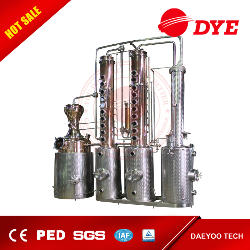 ethanol copper distillation equipment column