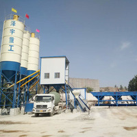 High quality cement universal concrete batching plant manufacturer