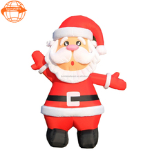 Hot-selling Lovely Inflatable Santa Claus,Xmas Father, inflatable christmas