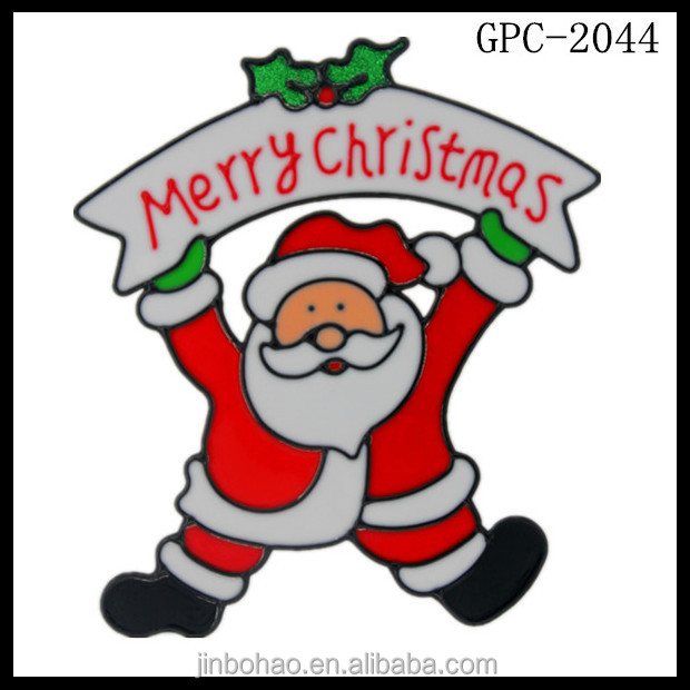 Good price Christmas window static cling stickers With Good Service