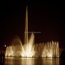 Water dancing musical fountain for forest park landscape engineering