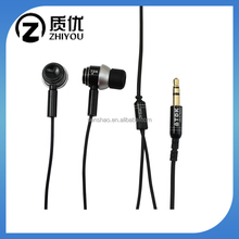 Mobile Phone Accessories Anti Noise Wholesale Metal Wired Earphone Handfree In Ear Earbuds For Samsung With Microphone