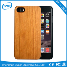Natural Slim Covering Case for iPhone 7 Plus real bamboo wood hard case cover for iphone 6