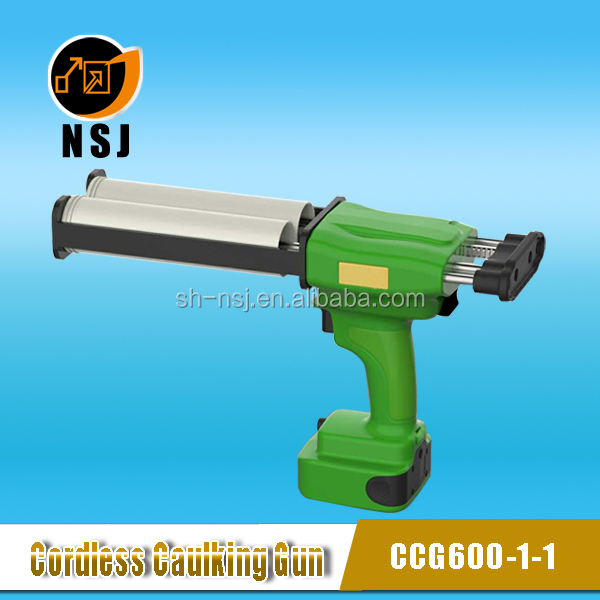 600ml 1:1 Hot Sale 7.4V Electric Silicone Sealant Gun for Construction