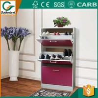 cabinet with wardrobe parts and rack corner shoe