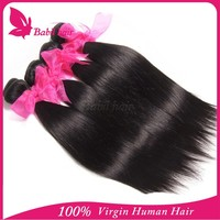 Factory Price Grade 6A Hot Selling Malaysian Hair Weft straight 6 inch hair weaving