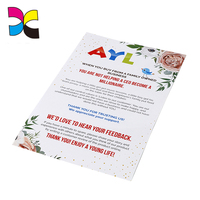 Cheap single sheet custom colorful ticket,leaflet brochures printing