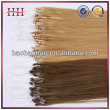 any color 1g strand 100 human hair micro ring hair extensions for blacks,factory best selling remy micro ring hair wholesale