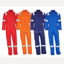 New Safety Working Overall Uniforms Reflective Orange Overall Worker Uniforms