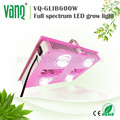 Hydroponics greenhouse led grow lights 600w cheap for sale