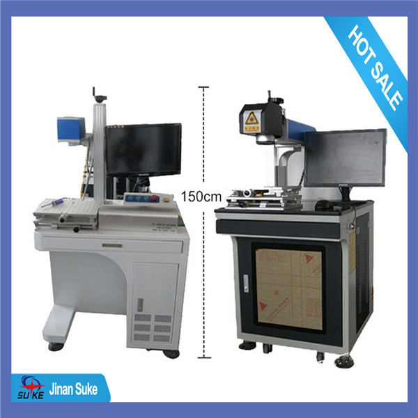 professional supplier 10W CE fiber laser marking label machine