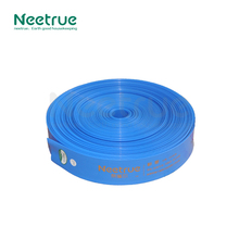 Neetrue 3.5 inch PE bule lay flat hose for Agriculture Irrigation flat hose pipes and reels