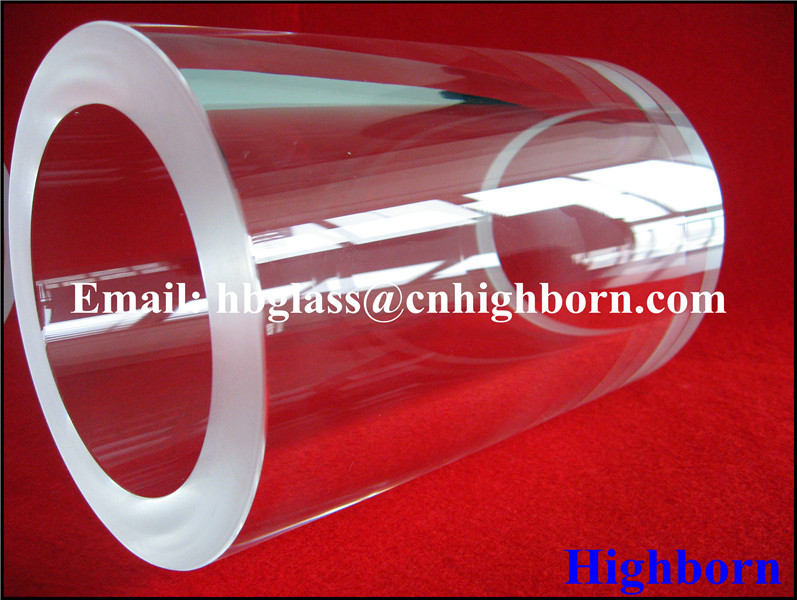 Customize Fused Silica Quartz Tube