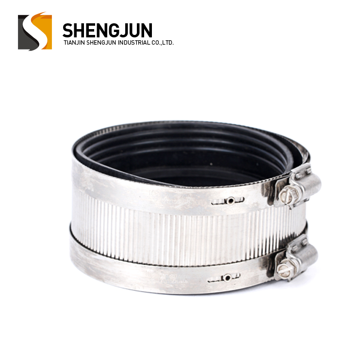 1.5 inch large band stainless steel A type coupling hose clamp