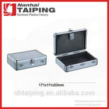 Cheap Small Silver Aluminum Tool Box Metal Boxes for Storage