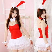 New Halloween Sweet Sexy Cute Christmas Pack Red Cute Little Rabbit