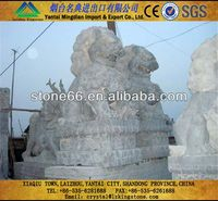 Technology natural stone rhinoceros statue
