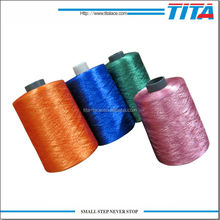 High quality fancy wholesale reflective embroidery thread from Hangzhou for computer embroidery machine, hand knitting, sewing