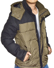 winter coat men's windproof winter coat
