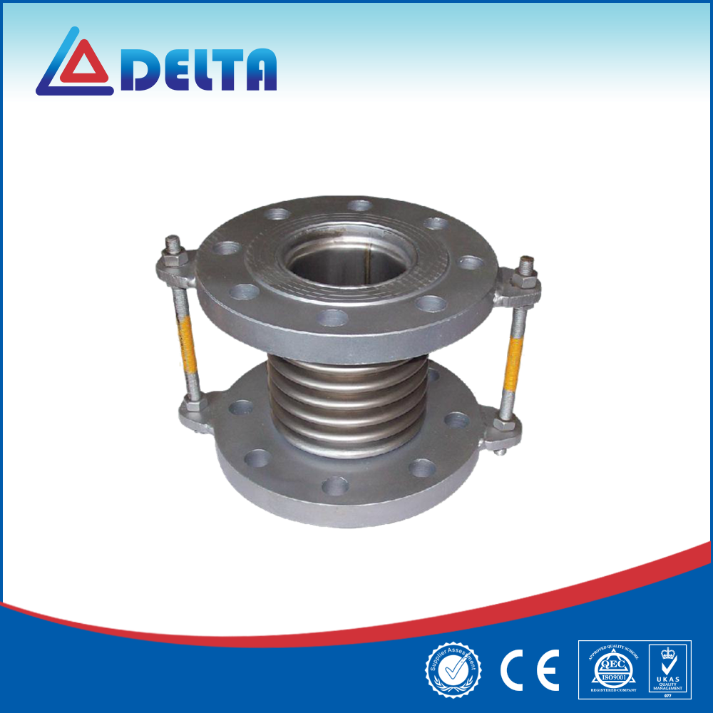 Flanged Pipe Connection Reinforced Bellows Expansion Joint