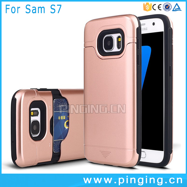 For Samsung S7 Cell Phone Cover,TPU+PC Hybrid Protective Hard Case for Samsung S7