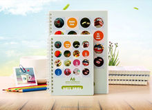 A5 PP witte cover spiraal notebook met dubbele cover