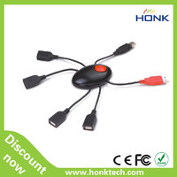 4 port usb hub with spider shape