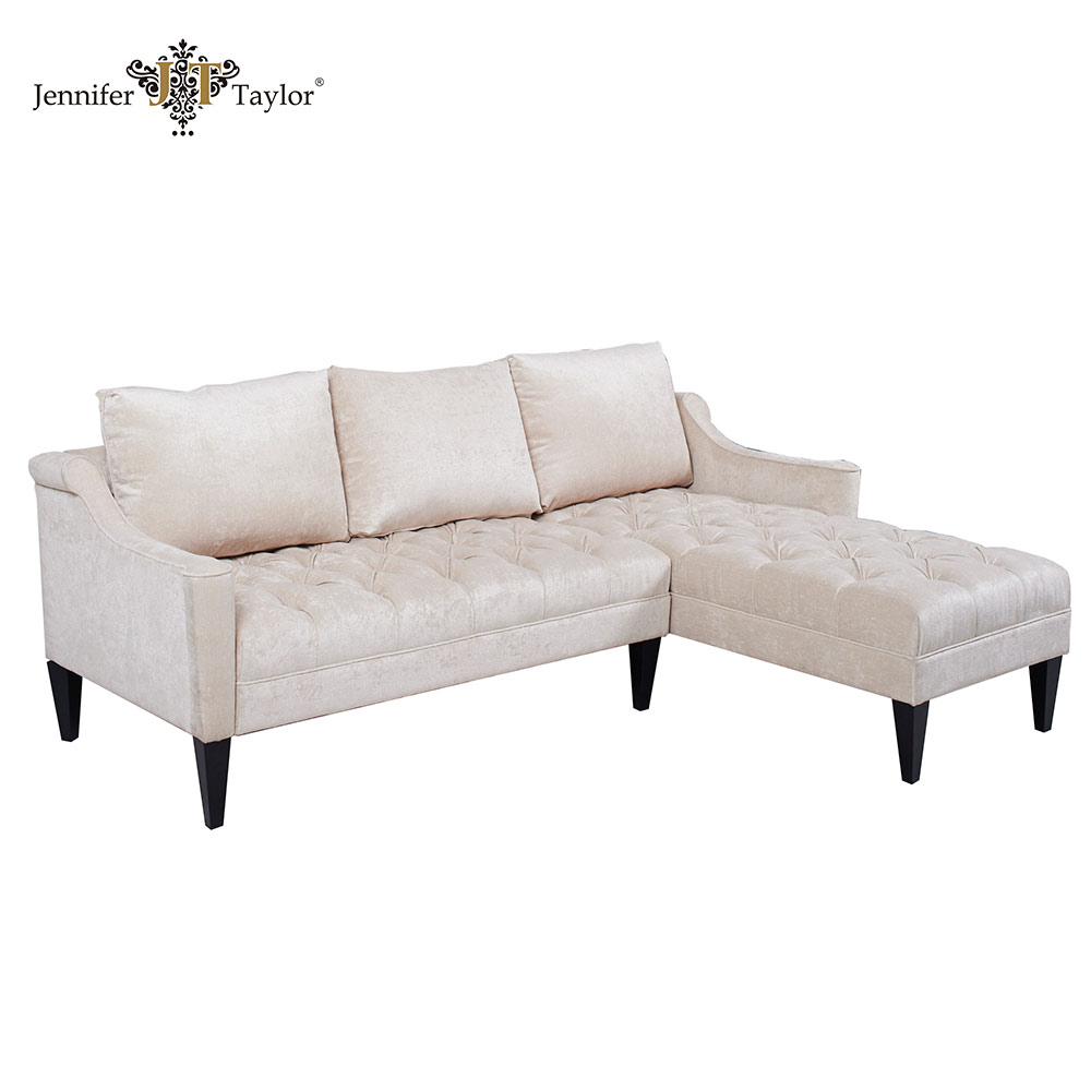 Home furniture new model sofa sets, fabric upholstery corner combine sofa