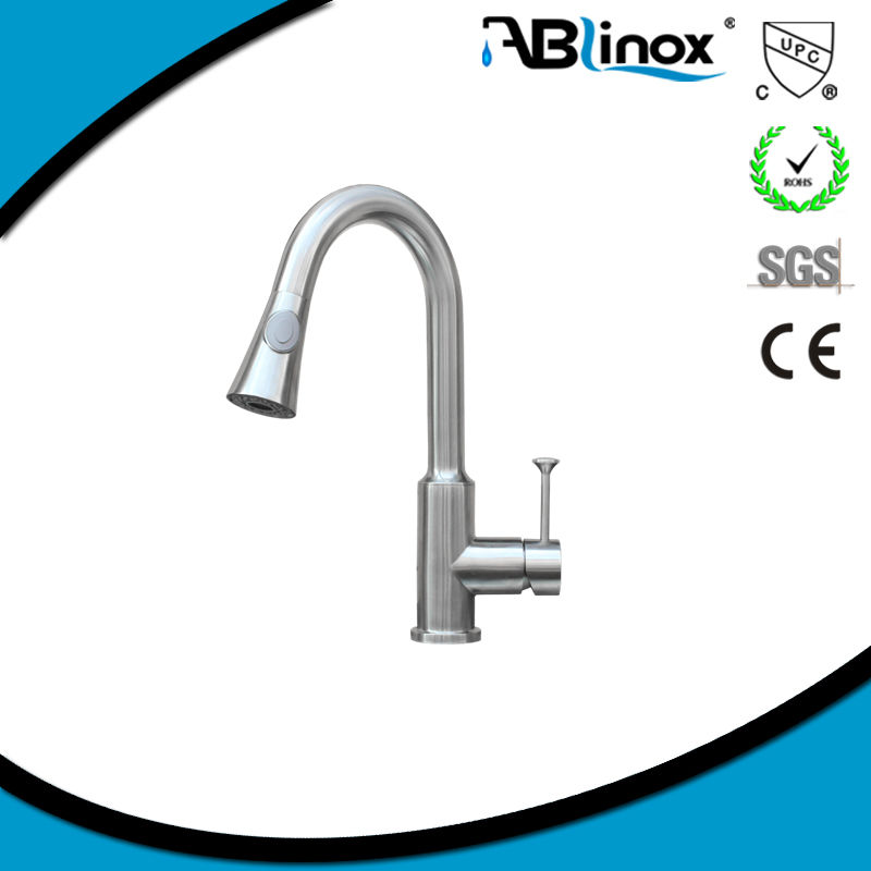 ABL 316 stainless steel wall mount/drinking water faucet
