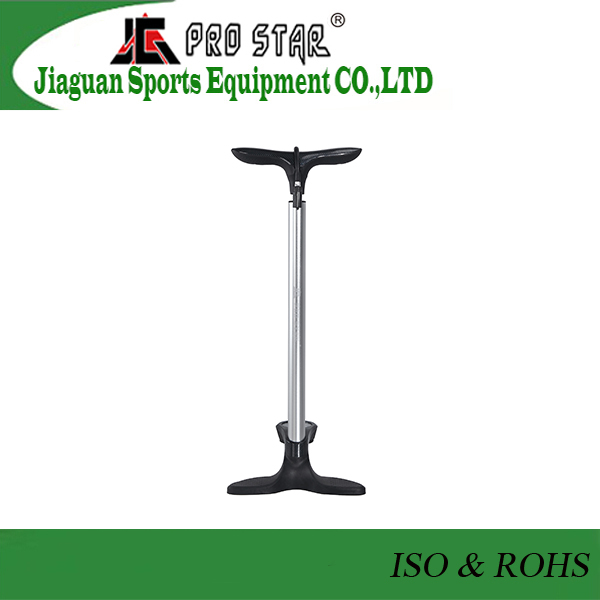 Professional Silver color Bicycle high pressure foot Pump with valve