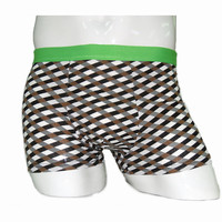 Samiker 160gsm 100% cotton hot sexy picture boys boxer underwear