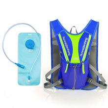 2017 Hot selling 12L outdoor hydration cycling reflective backpack for bicycle touring