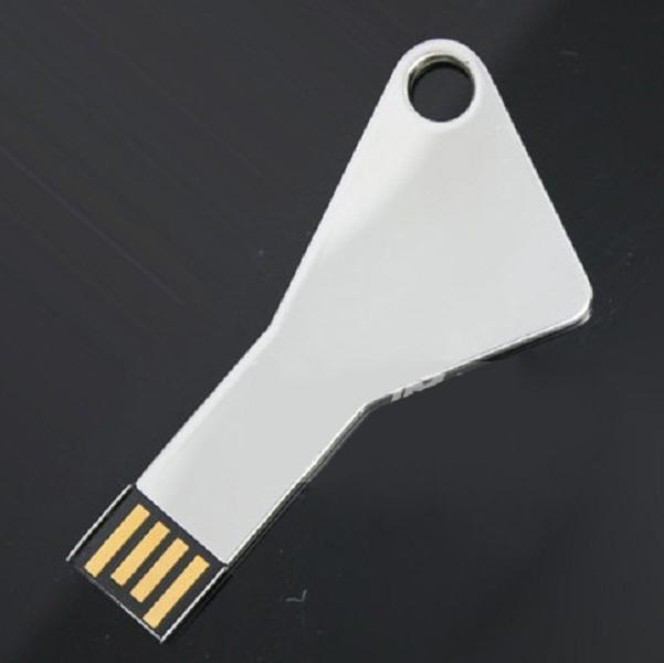 best promotional logo printing key shape 16gb usb 2.0 flash drives