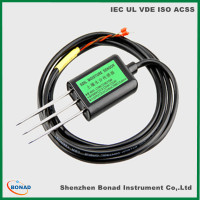top quality environment testing 4-20MA soil temperature moisture sensor with RS485 output
